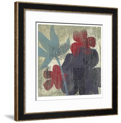 Whimsical Tapestry II-Jennifer Goldberger-Framed Limited Edition