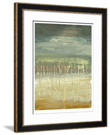 Marine Abstract II-Jennifer Goldberger-Framed Limited Edition