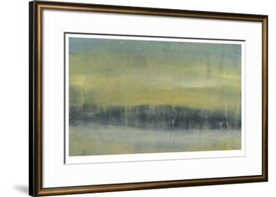 Abstracted Skyline II-Jennifer Goldberger-Framed Limited Edition
