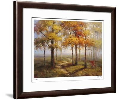 Sunlit Steps-Stephen Douglas-Framed Giclee Print