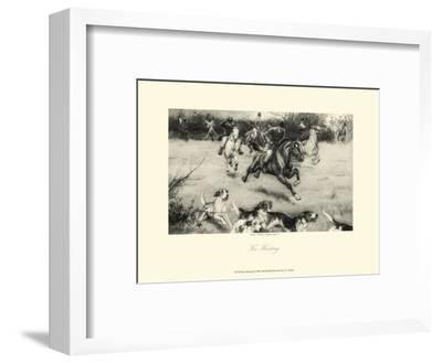 Fox Hunting-C^e^ Brock-Framed Art Print