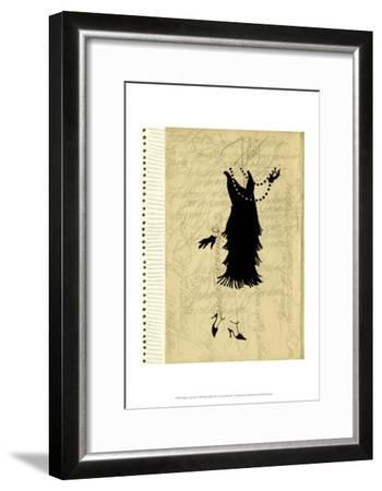 Flapper Fashion IV-Elissa Della-piana-Framed Art Print