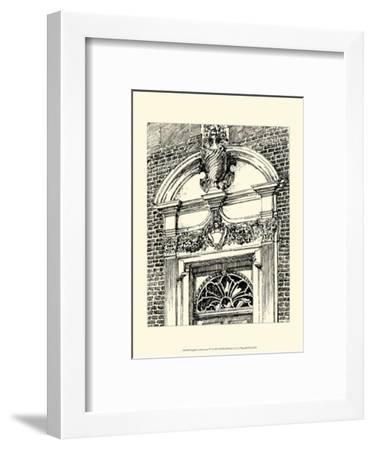 English Architecture IV-Reginald Blomfield-Framed Art Print