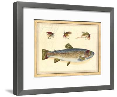 Printed Peter's Bream--Framed Art Print