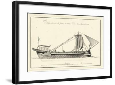 Veduta di Palmi Napoletani II-Pietro La Vega-Framed Giclee Print