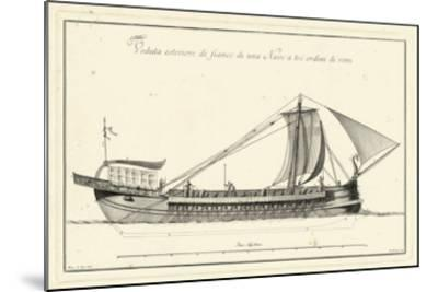 Veduta di Palmi Napoletani II-Pietro La Vega-Mounted Giclee Print