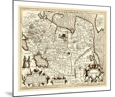 Antiquarian Map IV--Mounted Giclee Print