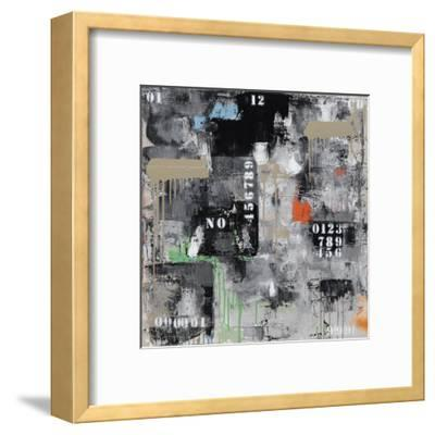 Initiales 129-Eric Trichet-Framed Art Print
