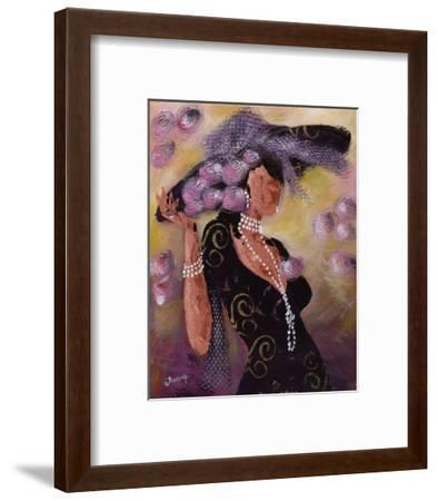 Elégantes aux Perles II-Johanna-Framed Art Print