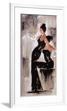 Histoires de Filles I-Johanna-Framed Art Print