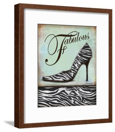 Zebra Shoe-Todd Williams-Framed Art Print