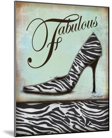 Zebra Shoe-Todd Williams-Mounted Art Print