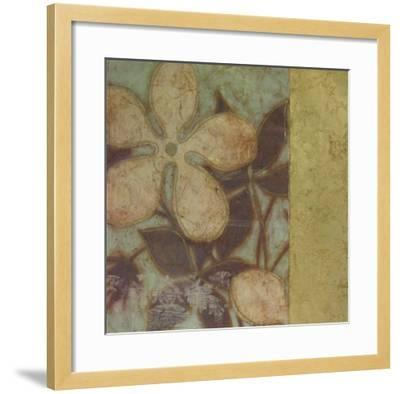 Embellished Time Worn Blossoms I--Framed Art Print