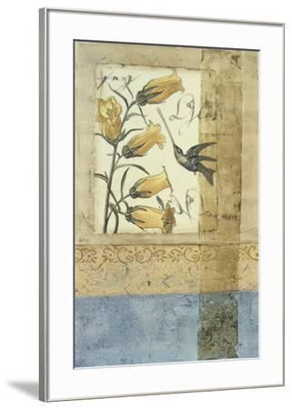 Embellished Hummingbird Reverie II--Framed Giclee Print
