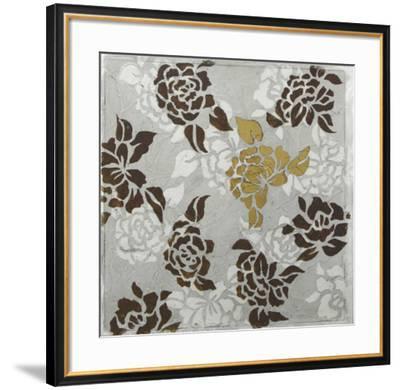 Rose Composition I-Jennifer Goldberger-Framed Art Print