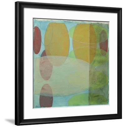 Vibrant Echoes I-Jennifer Goldberger-Framed Art Print