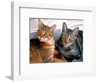 Sweepo and Tony-Robert Mcclintock-Framed Art Print