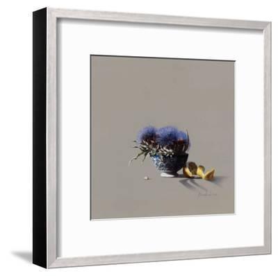 Bol et Chardons-Bedarrides-Framed Art Print