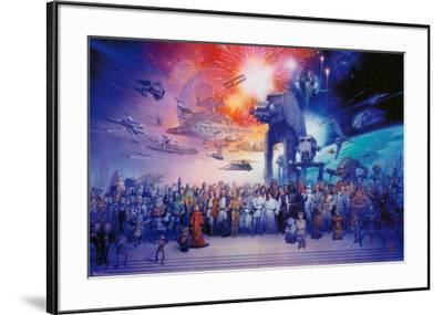 Star Wars--Framed Poster