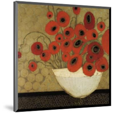 Frida's Poppies-Karen Tusinski-Mounted Art Print