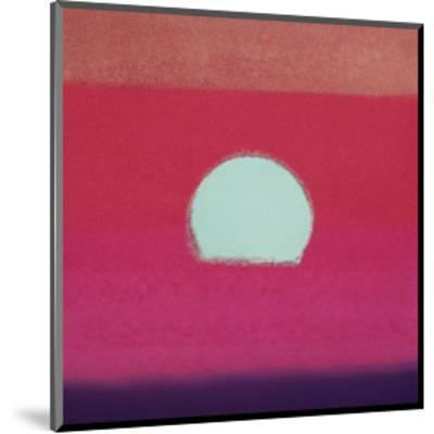 Sunset, c.1972 (hot pink, purple, red, blue)-Andy Warhol-Mounted Giclee Print