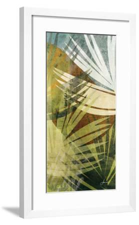 Palm Frond II-James Burghardt-Framed Art Print