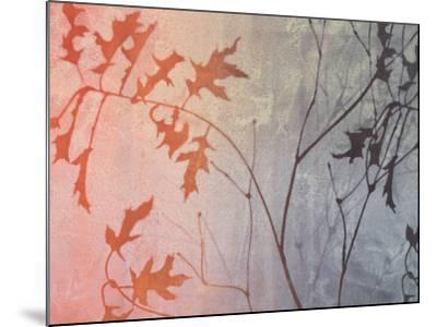 Fall Foreshadowed-Linda Yoshizawa-Mounted Art Print
