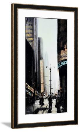 Lever du Jour, New York-Emmanuel Michel-Framed Art Print
