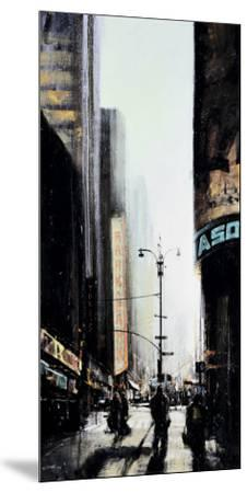 Lever du Jour, New York-Emmanuel Michel-Mounted Art Print