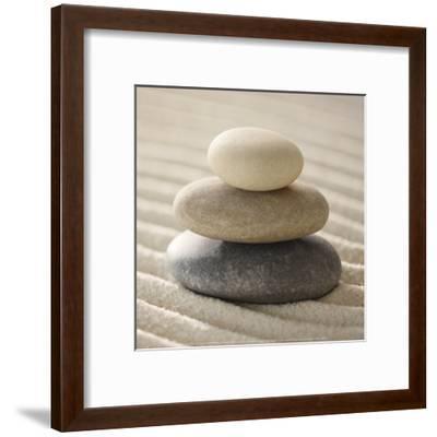 Pile of Pebbles-Gregor Schuster-Framed Art Print
