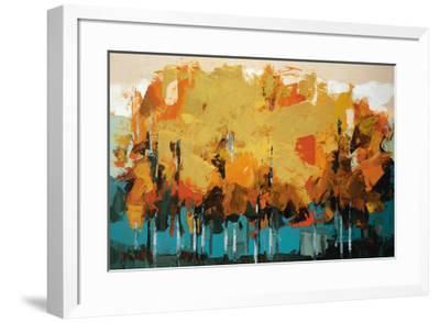 Stand on Slate-Peter Colbert-Framed Art Print