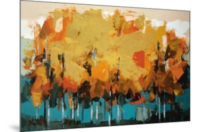 Stand on Slate-Peter Colbert-Mounted Art Print