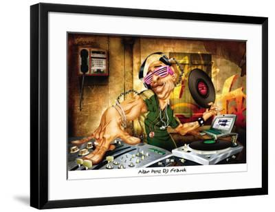 DJ Frank-Adam Perez-Framed Art Print