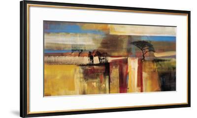 Etosha Zebra-Frances Schandera-Framed Art Print