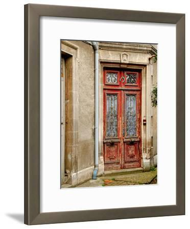 Weathered Doorway I-Colby Chester-Framed Art Print