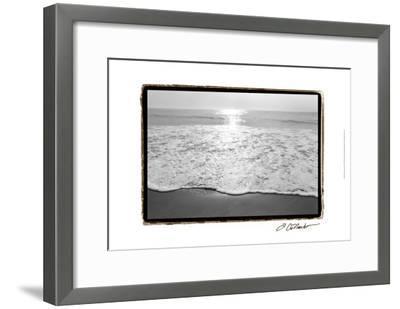 Ocean Sunrise III-Laura Denardo-Framed Art Print