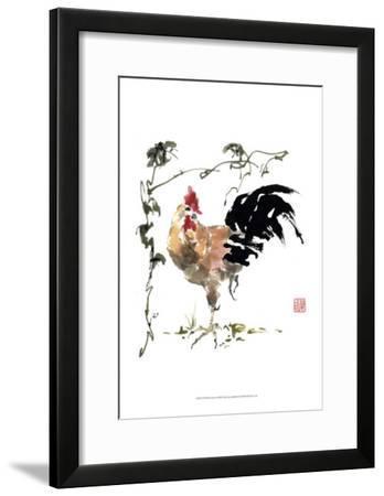 Of All He Surveys-Nan Rae-Framed Art Print