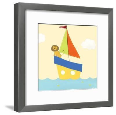 Sailboat Adventure II-Erica J^ Vess-Framed Art Print