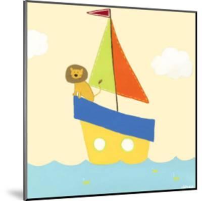 Sailboat Adventure II-Erica J^ Vess-Mounted Art Print