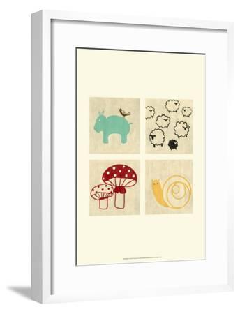 Best Friends Forever I-Chariklia Zarris-Framed Art Print
