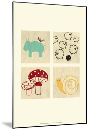 Best Friends Forever I-Chariklia Zarris-Mounted Art Print