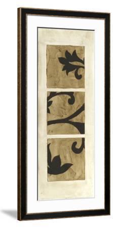 Tiled Triptych II-Jennifer Goldberger-Framed Art Print
