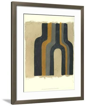 Divergence III-Chariklia Zarris-Framed Art Print