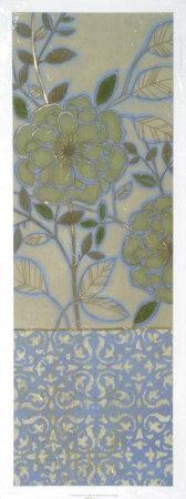 Brookside Floral I--Framed Giclee Print