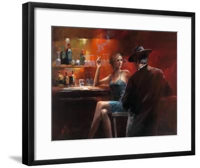 Evening in the Bar II-Willem Haenraets-Framed Art Print