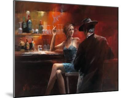 Evening in the Bar II-Willem Haenraets-Mounted Art Print