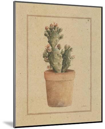Opuntia Vulgaris-Laurence David-Mounted Art Print