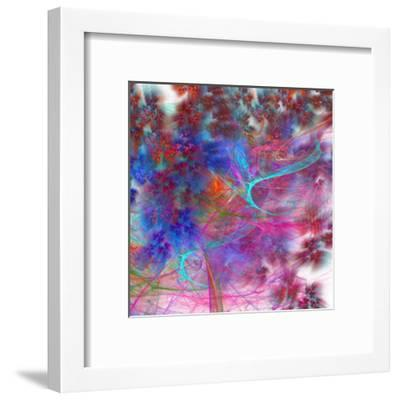 Fractalis V-Jean-Fran?ois Dupuis-Framed Art Print