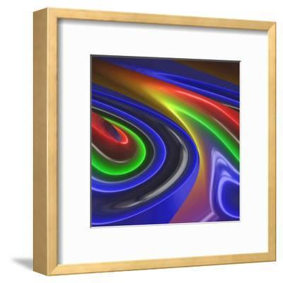 Chrome Bleu I-Jean-Fran?ois Dupuis-Framed Art Print