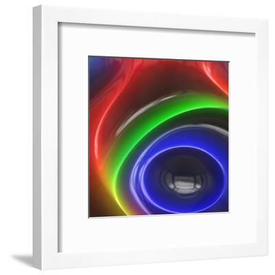 Chrome Bleu V-Jean-Fran?ois Dupuis-Framed Art Print